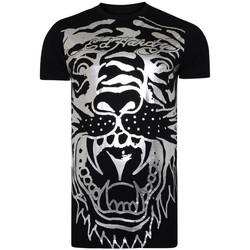 textil Tops y Camisetas Ed Hardy Big-tiger t-shirt Negro