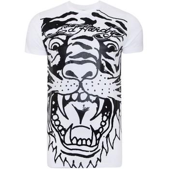 textil Tops y Camisetas Ed Hardy Big-tiger t-shirt Blanco