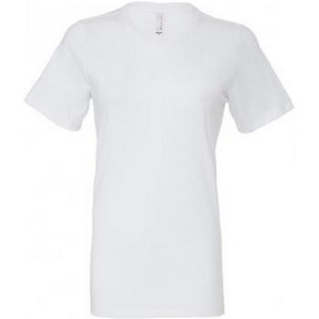textil Mujer Camisetas manga corta Bella + Canvas BL6400 Blanco