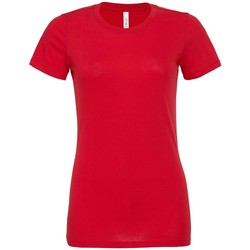 textil Mujer Camisetas manga corta Bella + Canvas BL6400 Rojo
