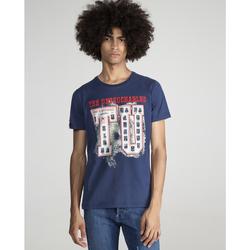 textil Hombre Camisetas manga corta The Untouchables CLASS Azul