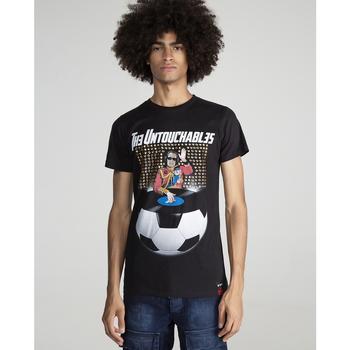 textil Hombre Camisetas manga corta The Untouchables DJ FOTBALL Negro