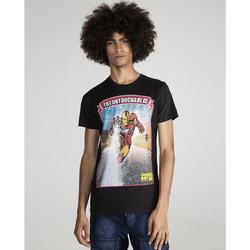 textil Hombre Camisetas manga corta The Untouchables IRON RACE Negro