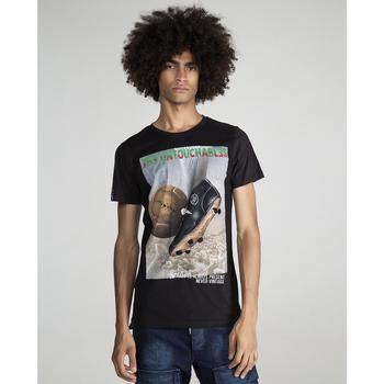 textil Hombre Camisetas manga corta The Untouchables KICK Negro