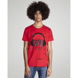 textil Hombre Camisetas manga corta The Untouchables DJ  TU Rojo