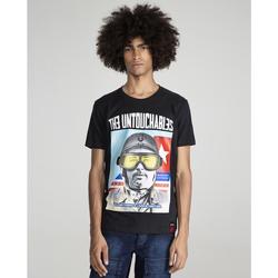 textil Hombre Camisetas manga corta The Untouchables AVIATOR Negro