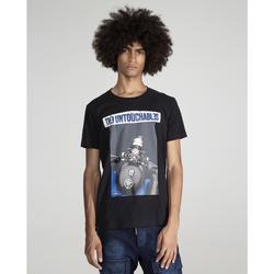 textil Hombre Camisetas manga corta The Untouchables MOTOVINT Negro