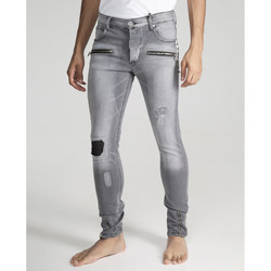 textil Hombre Vaqueros The Untouchables WALLY SKINNY Gris