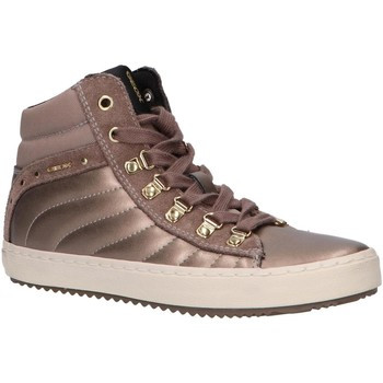 Zapatos Niña Zapatillas altas Geox J944GH 0AJ22 J KALISPERA Gold