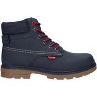 Zapatos Niño Botas de caña baja Levi's VFOR0051S NEW FORREST Azul