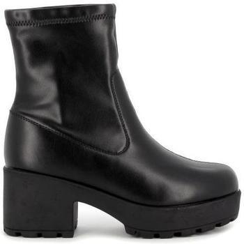Zapatos Mujer Botines Emmshu NURA Negro