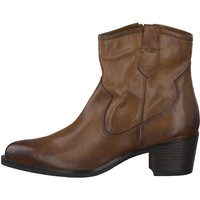 Zapatos Mujer Botines Marco Tozzi Botines Tacones Medio Moscatel Brown