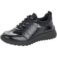 Zapatos Mujer Derbie Remonte Dorndorf Armonía Negro Schwarz Black