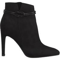 Zapatos Mujer Botines Marco Tozzi Botines Tacones Altos Negro Black