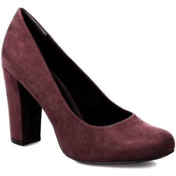 Zapatos Mujer Zapatos de tacón Marco Tozzi Elegantes Tacones Altos Granat Red