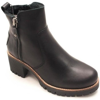 Zapatos Mujer Botines Panama Jack Pauline Travelling B Negro