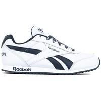 Zapatos Niños Zapatillas bajas Reebok Sport Royal Cljog 2 Blanco, Azul marino