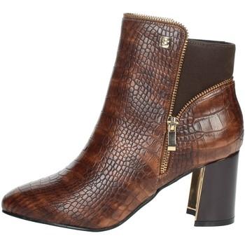 Zapatos Mujer Botines Laura Biagiotti 6580 Marrón cuero