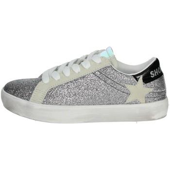Zapatos Niña Zapatillas bajas Shop Art SA0400 Plata