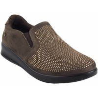 Zapatos Mujer Mocasín Amarpies Zapato señora  18839 ast taupe Marrón