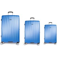Bolsos Mujer Valise Rigide Les Tropéziennes par M Belarbi Les Tropéziennes set 3 valises VTZ20 bleu Azul