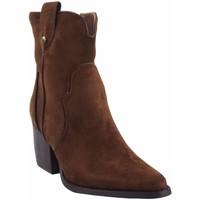 Zapatos Mujer Botines D'angela Botín señora  18018 dsy cuero Marrón