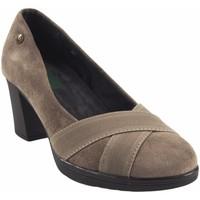 Zapatos Mujer Zapatos de tacón Amarpies Zapato señora  18753 akt taupe Marrón