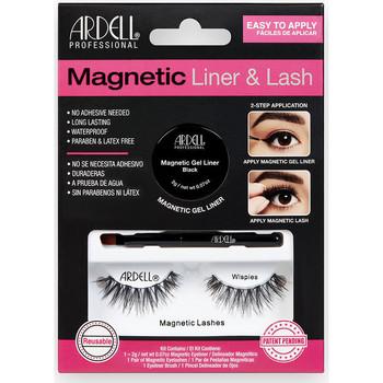 Belleza Mujer Máscaras de pestañas Ardell Magnetic Liner & Lash Wispies Liner +