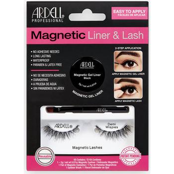 Belleza Mujer Máscaras de pestañas Ardell Magnetic Liner & Lash Demi Wispies Liner +