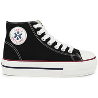 Zapatos Niña Zapatillas altas Chika 10 CITY UP KIDS 02N Negro/Black