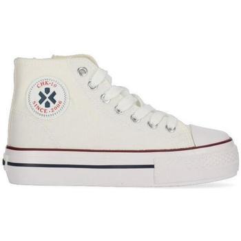 Zapatos Niña Zapatillas altas Chika 10 CITY UP KIDS 02N Blanco/White