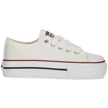 Zapatos Niña Zapatillas bajas Chika 10 CITY UP KIDS 01N Blanco/White