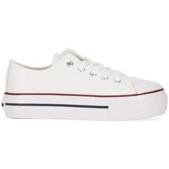 Zapatos Niña Zapatillas bajas Chika 10 CITY UP KIDS 03N Blanco/White/Pu