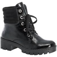 Zapatos Mujer Botas de caña baja Rieker Prisca Black Schwarz Black