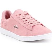 Zapatos Mujer Zapatillas bajas Lacoste Carnaby Evo Rosa