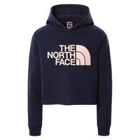 textil Niña Sudaderas The North Face DREW PEAK CROPPED HOODIE Marino