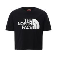 textil Niña Camisetas manga corta The North Face EASY CROPPED TEE Negro