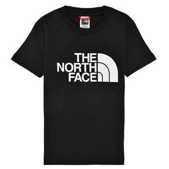 textil Niño Camisetas manga corta The North Face EASY TEE Negro