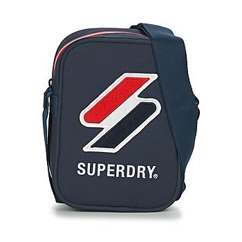 Bolsos Bolso pequeño / Cartera Superdry SPORTSTYLE SIDE BAG Marino