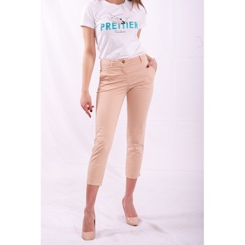 textil Mujer Pantalones chinos Fracomina FR20SPCTINA14 Beige