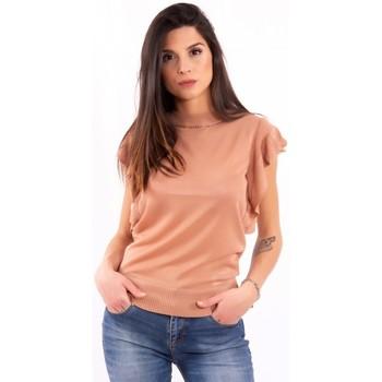 textil Mujer Camisetas manga corta Fracomina FR20SM806 Incoloro