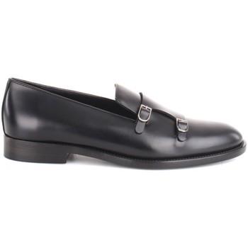 Zapatos Hombre Mocasín Edhèn Milano FAB 100 TUD Negro