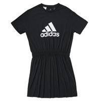 textil Niña Vestidos cortos adidas Performance G DANCE DRESS Negro