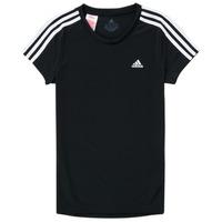textil Niña Camisetas manga corta adidas Performance G 3S T Negro