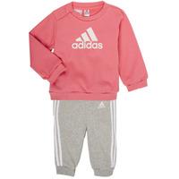 textil Niña Conjunto adidas Performance BOS JOG FT Rosa