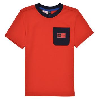 textil Niño Conjunto adidas Performance LB DY SHA SUM Rojo / Marino