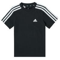 textil Niño Camisetas manga corta adidas Performance B 3S T Negro