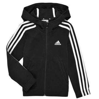 textil Niña Sudaderas adidas Performance G 3S FZ HD Negro
