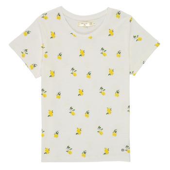 textil Niña Camisetas manga corta Deeluxe NADY Blanco