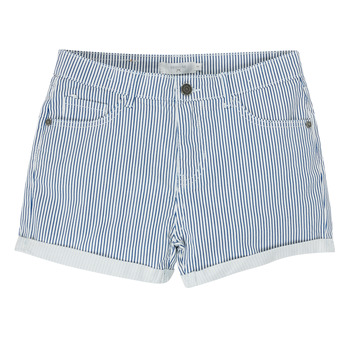 textil Niña Shorts / Bermudas Deeluxe BILLIE Blanco / Azul